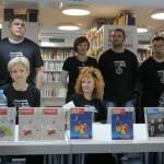 HDKDM - Promocija biblioteke ( 9 naslova ) u knjižnici Bogdan Ogrizović (112)