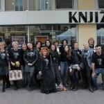 HDKDM - Promocija biblioteke ( 9 naslova ) u knjižnici Bogdan Ogrizović (115)