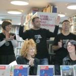 HDKDM - Promocija biblioteke ( 9 naslova ) u knjižnici Bogdan Ogrizović (131)