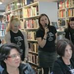 HDKDM - Promocija biblioteke ( 9 naslova ) u knjižnici Bogdan Ogrizović (137)