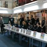 HDKDM - Promocija biblioteke ( 9 naslova ) u knjižnici Bogdan Ogrizović (140)