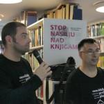HDKDM - Promocija biblioteke ( 9 naslova ) u knjižnici Bogdan Ogrizović (145)