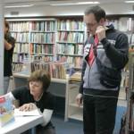 HDKDM - Promocija biblioteke ( 9 naslova ) u knjižnici Bogdan Ogrizović (148)