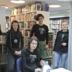 HDKDM - Promocija biblioteke ( 9 naslova ) u knjižnici Bogdan Ogrizović (151)