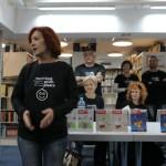 HDKDM - Promocija biblioteke ( 9 naslova ) u knjižnici Bogdan Ogrizović (19)