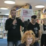 HDKDM - Promocija biblioteke ( 9 naslova ) u knjižnici Bogdan Ogrizović (23)