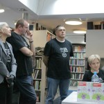 HDKDM - Promocija biblioteke ( 9 naslova ) u knjižnici Bogdan Ogrizović (27)