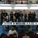 HDKDM - Promocija biblioteke ( 9 naslova ) u knjižnici Bogdan Ogrizović (34)