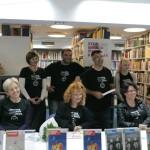 HDKDM - Promocija biblioteke ( 9 naslova ) u knjižnici Bogdan Ogrizović (40)