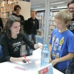HDKDM - Promocija biblioteke ( 9 naslova ) u knjižnici Bogdan Ogrizović (54)