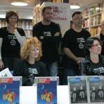 HDKDM - Promocija biblioteke ( 9 naslova ) u knjižnici Bogdan Ogrizović (75)